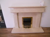 The Sentry in Polished Crema Marfil Marble